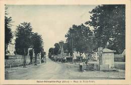 Depts Divers -allier -ref N289-saint Gerand Le Puy -st Gerand Le Puy - Place Du Poids Public  - Carte Bon Etat  - - Autres Communes