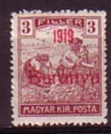 "HONGRIE / BARANYA - 1919 - Timbres De Hongrie Surcharge ""1919 Baranya"" - 3 Fi ** MNH - Mi 19; Yv 10 - Baranya"