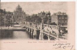 AMSTERDAM HOOGE SLUIS. PALEIS VOOR VOLKSVLIJT  1903 - Amsterdam