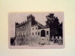 MONTEMAGNO CASTELLO ANNO 1922 VIAGGIATA -11- - Asti