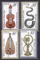 GermanDemocraticRepublic(DDR)1979:Michel2445-8mnh** Musical Instruments - [6] Democratic Republic