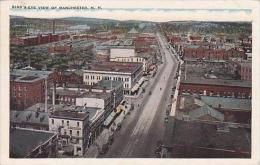 New Hampshire Manchester Birds Eye View 1934