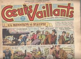 Coeurs Vaillants Lot De 52 Numéros De 1954 (du N°1 à 52, Complet) - Otras Revistas
