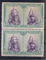 Spain1927: Edifil424mnh**pair Catalogue Value20.50Euros($28) - 1889-1931 Reino: Alfonso XIII
