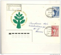 Vokas Envelope Lietuva Kaunas Porele Su Tarpu - Autres - Europe