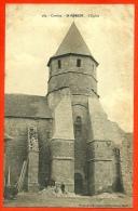 En L' état CPA 19 St SAINT-ROBERT Corrèze - L' Eglise ° Phototypie Meyrignac Et Puydebois Brive - France