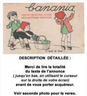 Cpa : BANANIA, C´est Si Bon.... Voir Description Bien Détaillée. - Publicité