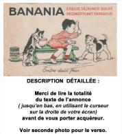 Cpa : BANANIA, Entre Deux Feux.... Voir Description Bien Détaillée. - Illustrateurs & Photographes