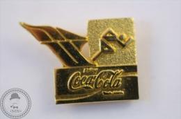Coca Cola Athletics Discipline - Golden Colour - Olympic Games - Pin Badge #PLS - Coca-Cola