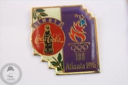 Always Coca Cola Olympic Games Atlanta 1996 - Purple Colour Pin Badge #PLS - Coca-Cola