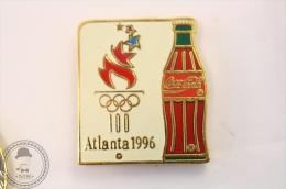 Coca Cola Olympic Games Atlanta 1996 - Coke Bottle - Pin Badge #PLS - Coca-Cola