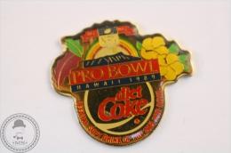 Coca Cola Super Bowl - Hawaii 1989, Diet Coke - Enamel Pin Badge #PLS - Coca-Cola