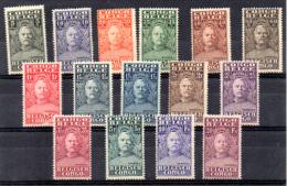 Henri Morton Stanley, 135 / 149*, Cote 38 € - 1923-44: Nuovi