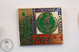 Coca Cola Atlanta 1996 Centennal Olympic Games - Pin Badge #PLS - Coca-Cola