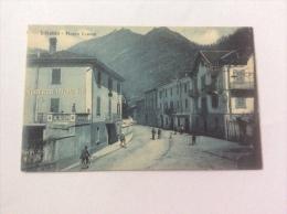 INTROBIO - Piazza Cavour, Animata - Cartolina FP NV - Italie