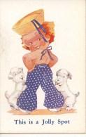 THIS IS A JOLLY SPOT - AGNES RICHARDSON? - Cartes Humoristiques