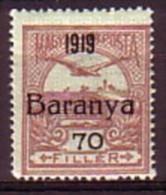 "HONGRIE / BARANYA - 1919 - Timbres De Hongrie Surcharge ""1919 Baranya"" - 60 Fi ** MNH  -  Mi 14; - Baranya"