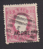 Azores, Scott #25, Used, King Luiz, Issued 1871 - Azores