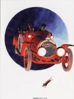 Picture (25.5 X 19.5 Cm, Higher Sending Cost) - Cars - Germain 1914 - Vecchi Documenti