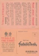 FRATELLI CARLI   PREZZIARIO - Advertising