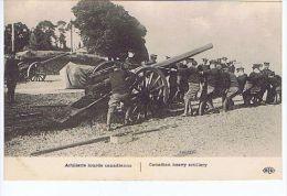 Artillerie Lourde Canadienne - Canadian Heavy Artillery , Editions E.L.D. - Guerra 1914-18