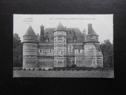 (76) CPA : OHERVILLE - Château D'Auffray (Façade Nord) - Ed. L.J. N° 847 - Yvetot