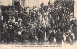 ¤¤  -   61  -  NANTES  -  La Guerre Européenne De 1914  -  Arrivée Des Prisonniers Allemands Aux COUETS   -  ¤¤ - Bouguenais