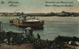 BELGIQUE - ANVERS - ANTWERPEN - Bâteau De Passage Vers Ste. Anne - Overzet-Boot Naar Vlaamsch Hoofd. - Antwerpen