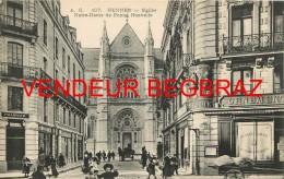 RENNES      EGLISE NOTRE DAME DE BONNE NOUVELLE  PHARMACIE ROUSSEL - Rennes