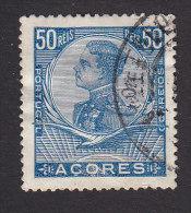 Azores, Scott #118, Used, King Manuel II, Issued 1910 - Açores