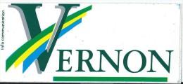 Ville Eure/Vernon / Années 1980   ACOL43 - Stickers