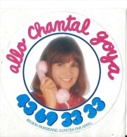 Artiste / Chantal GOYA/ Allo Chantal / Années 1980   ACOL45 - Stickers