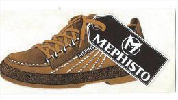 Fabricant De Chaussures / Méphisto / Années 1980   ACOL48 - Stickers