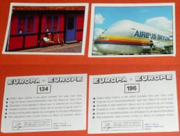 Lot D´images Autocollantes Autocollant Figurines PANINI Europe Europa Airbus Skylink Skylinxx - Panini