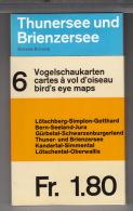 BLS - 6 Vogelschaukarten /  6 Cartes à Vol D'oiseau /  6 Bird's Eye Maps - Cartes Géographiques