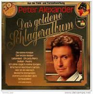 LP  Peter Alexander – Das Goldene Schlageralbum  -  Von Ariola 200 250-501  - Jahr 1979 - Vinyl-Schallplatten