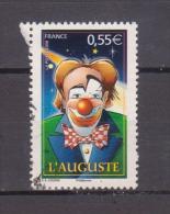 """FRANCE / 2008 / Y&T N° 4218 : """"Cirque"""" (l'Auguste) De Feuille - Choisi - Cachet Rond - France"""