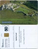 Telefonkarte Slowakei - Unesco - Spissky Hrad - Aufl. 100000 - 28/2000 - Slowakei
