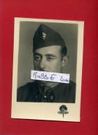 PHOTOGRAPHIE ARGENTIQUE 1940 PORTRAIT SOLDAT DU 2e PHOTOGRAPHE HARMAND A TRIPOLI LIBAN - 1939-45