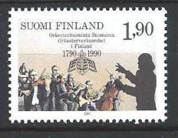 Finlande 1990 N°1068 Neuf Orchestres Finlandais - Finland