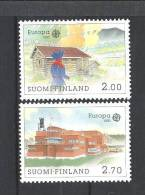 Finlande 1990  Neufs N°1074/1075 - Finland