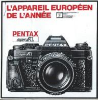 Photographie/ Pentax / L'appareil Européen De L'année / Années 1980   ACOL57 - Stickers