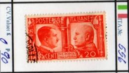 ITALY: KINGDOM#  COMMEMORATIVES BEFORE 1950 (ITA 260-1 (3) - Usati