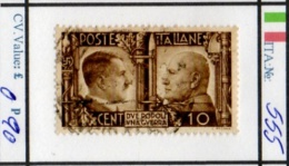 ITALY: KINGDOM#  COMMEMORATIVES BEFORE 1950 (ITA 260-1 (4) - Usati