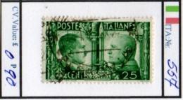 ITALY: KINGDOM#  COMMEMORATIVES BEFORE 1950 (ITA 260-1 (5) - Usati