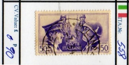 ITALY: KINGDOM#  COMMEMORATIVES BEFORE 1950 (ITA 260-1 (7) - Usati
