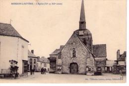 Moisdon-la-Rivière.. Animée.. Belle Vue De L'Eglise - Moisdon La Riviere