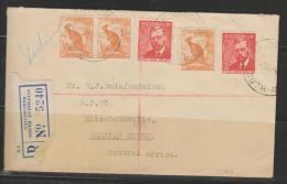 Cover 1948 From Nailsworth To Elisabethville Belgian Congo - Briefe U. Dokumente