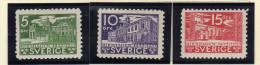 "Suède (1935)    - ""Parlement"" Neufs* - Nuovi"