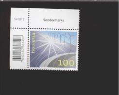 Schweiz **    2342 Energie   Neuheiten  Mai 2014  Eckrand  Ungefaltet - Switzerland